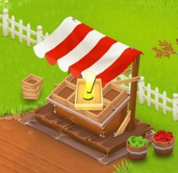 [Hay Day Tips] Sell produsts in Hay Day Roadside Shops to earn coins.jpg